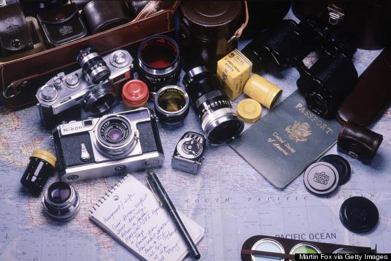 old camera film