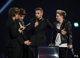 Harry's Caught Short At The Brits