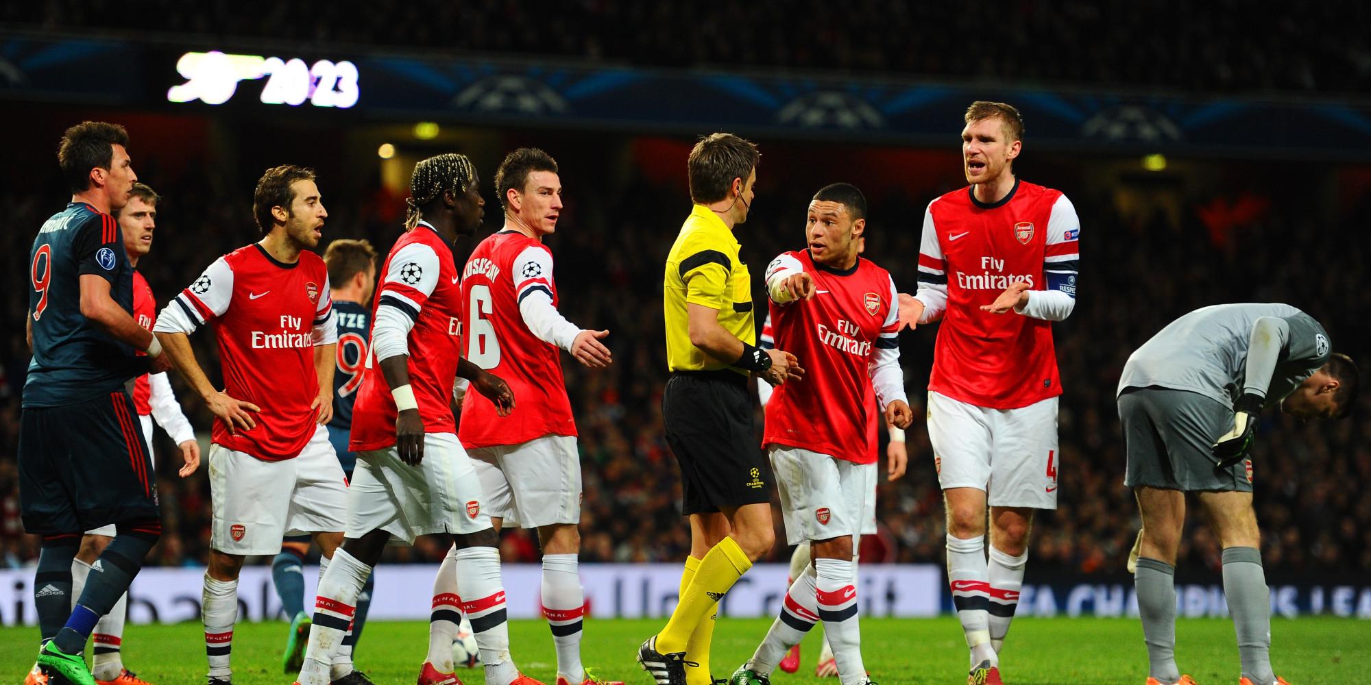 Arsenal Bayern MГјnchen