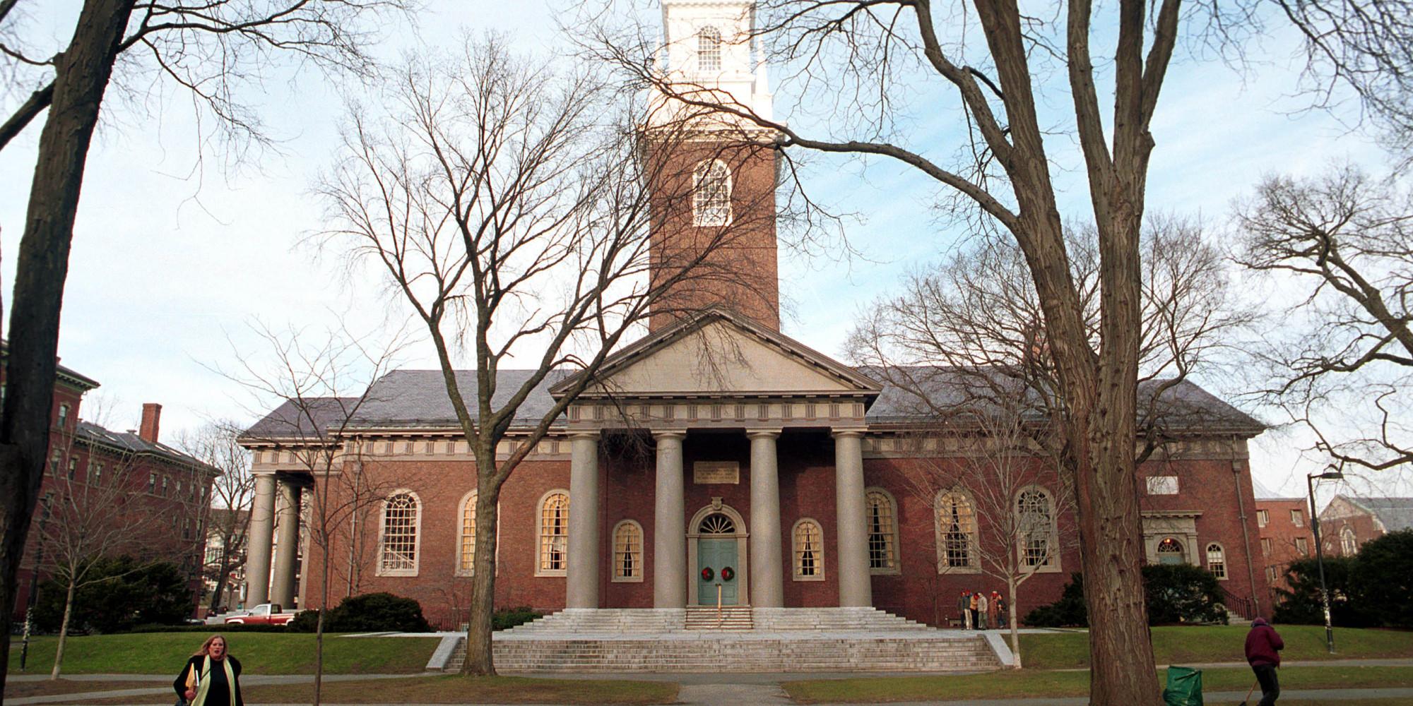 Harvard law school campus building
