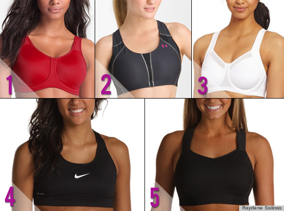 Best Sports Bras: The Top 5 Bras For All The Support You Need ...