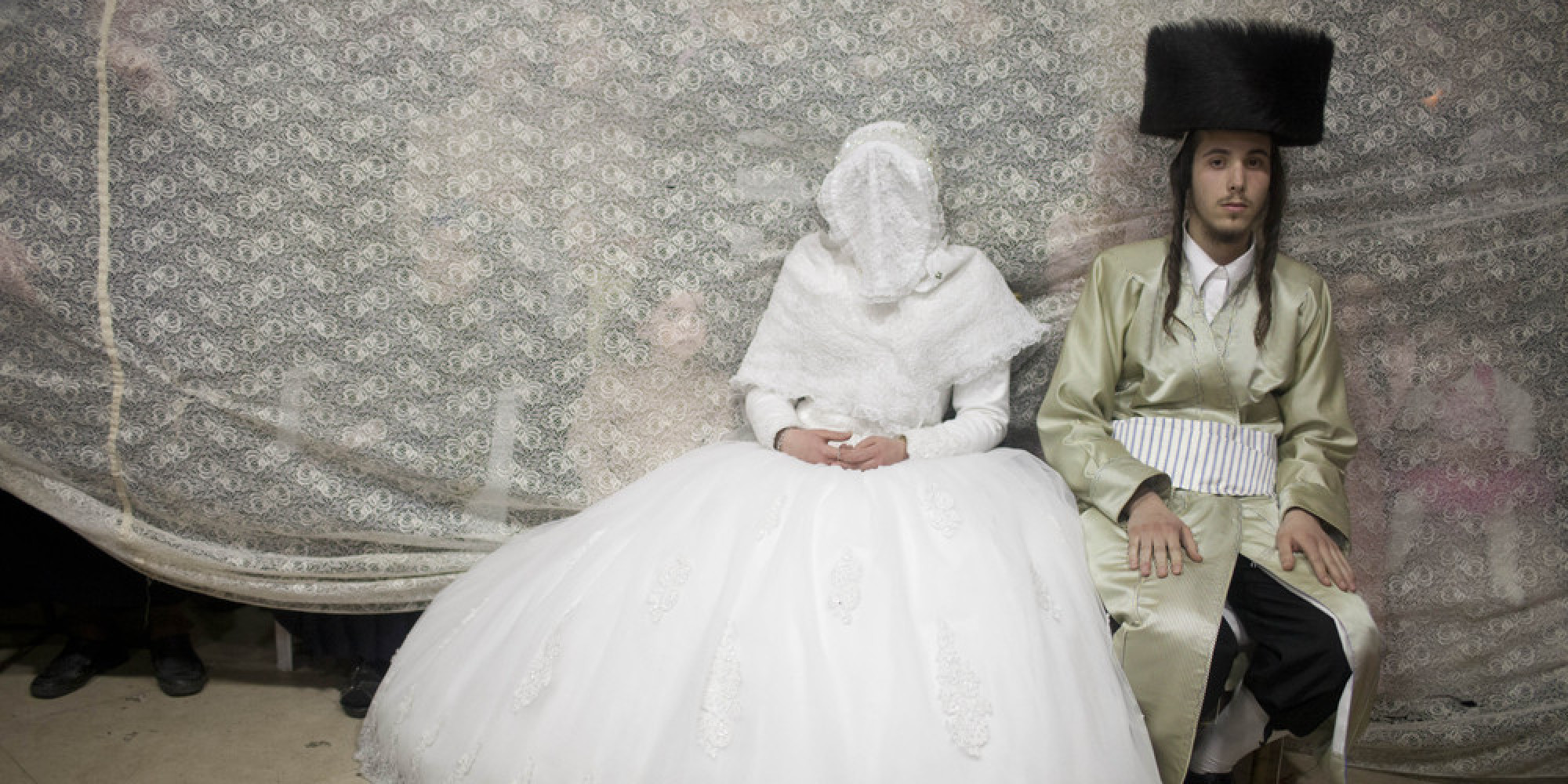 Haredi Jews In Israel: 19 Stunning Pictures Of An Ultra-Orthodox Jewish Wedding