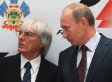 Bernie Ecclestone, F1 Boss, 'Agrees' With Vladimir Putin's Gay Rights Policy