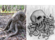 Cthulhu Tree Trunk Heralds The Arrival Of HP Lovecraft's Alien Monster