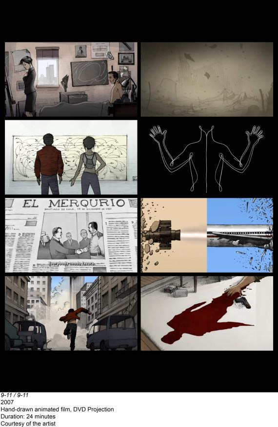 hand drawn animated film