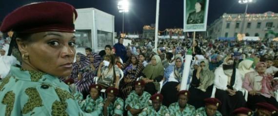 AMAZONES LIBYE