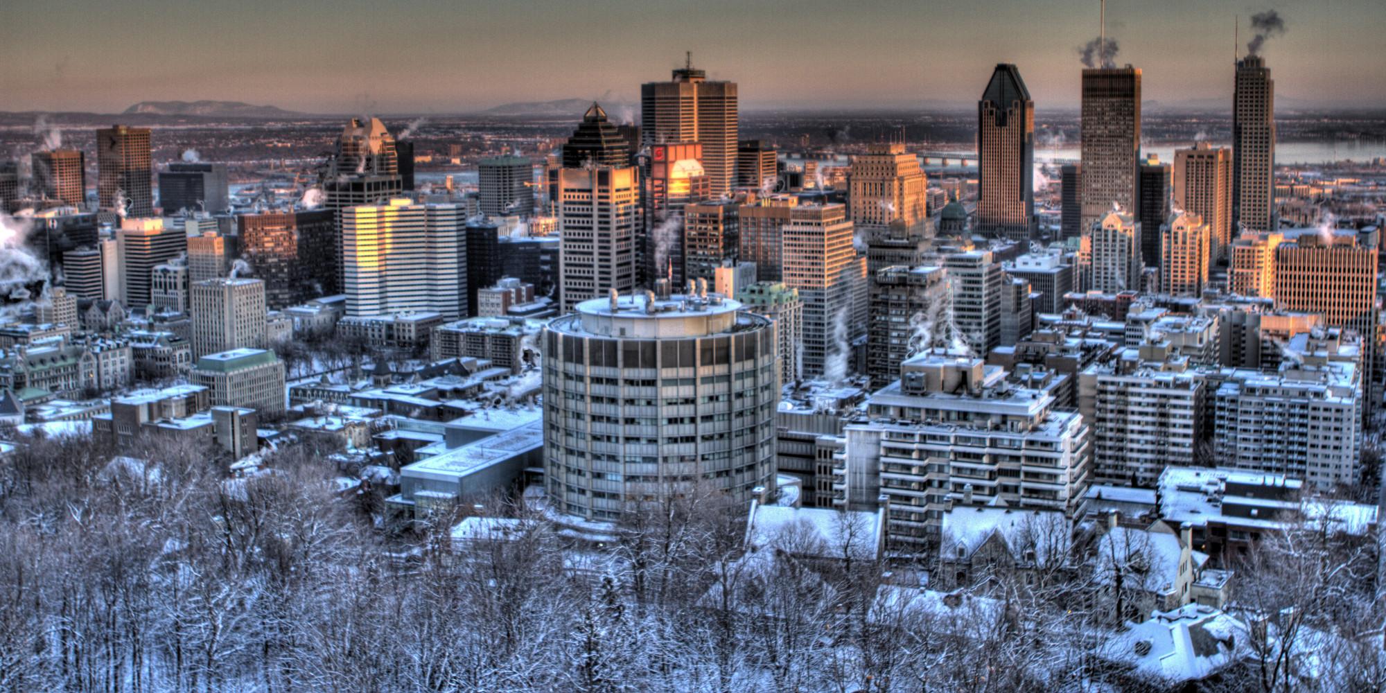 Montréal, 4e meilleure ville en Amérique du Nord -> Amérique Ville Nuit