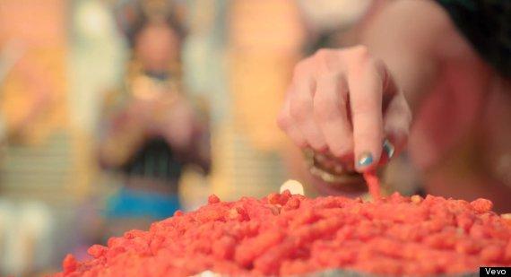 katy perry cheetos