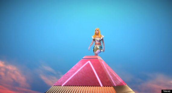 katy perry pyramid