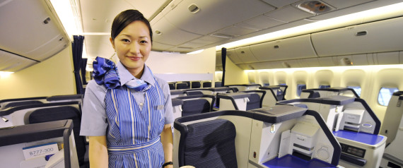 ALL NIPPON AIRWAYS CABIN