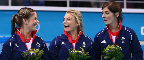 TEAM GB WOMENS CURLERS