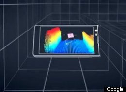 So Google's Next Phones Will Map The Inside Of Your House