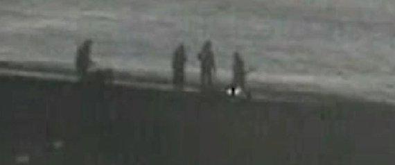 inmigrante playa