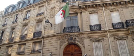 Ambassade Algerie Paris
