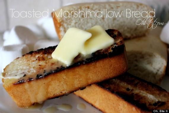 toasted marshmallow bread