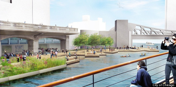 o RIVERAWLK 570 This Is What Chicago Could Look Like In 2034