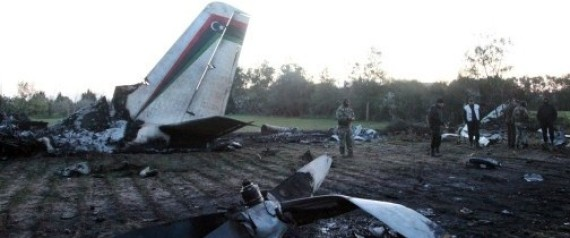 CRASH AVION LIBYEN TUNISIE