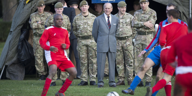 view download images  Images Soldier Tells Prince Philip 'I'm F***ed' During Visit To 1st Battalion Grenadier Guards | HuffPost UK