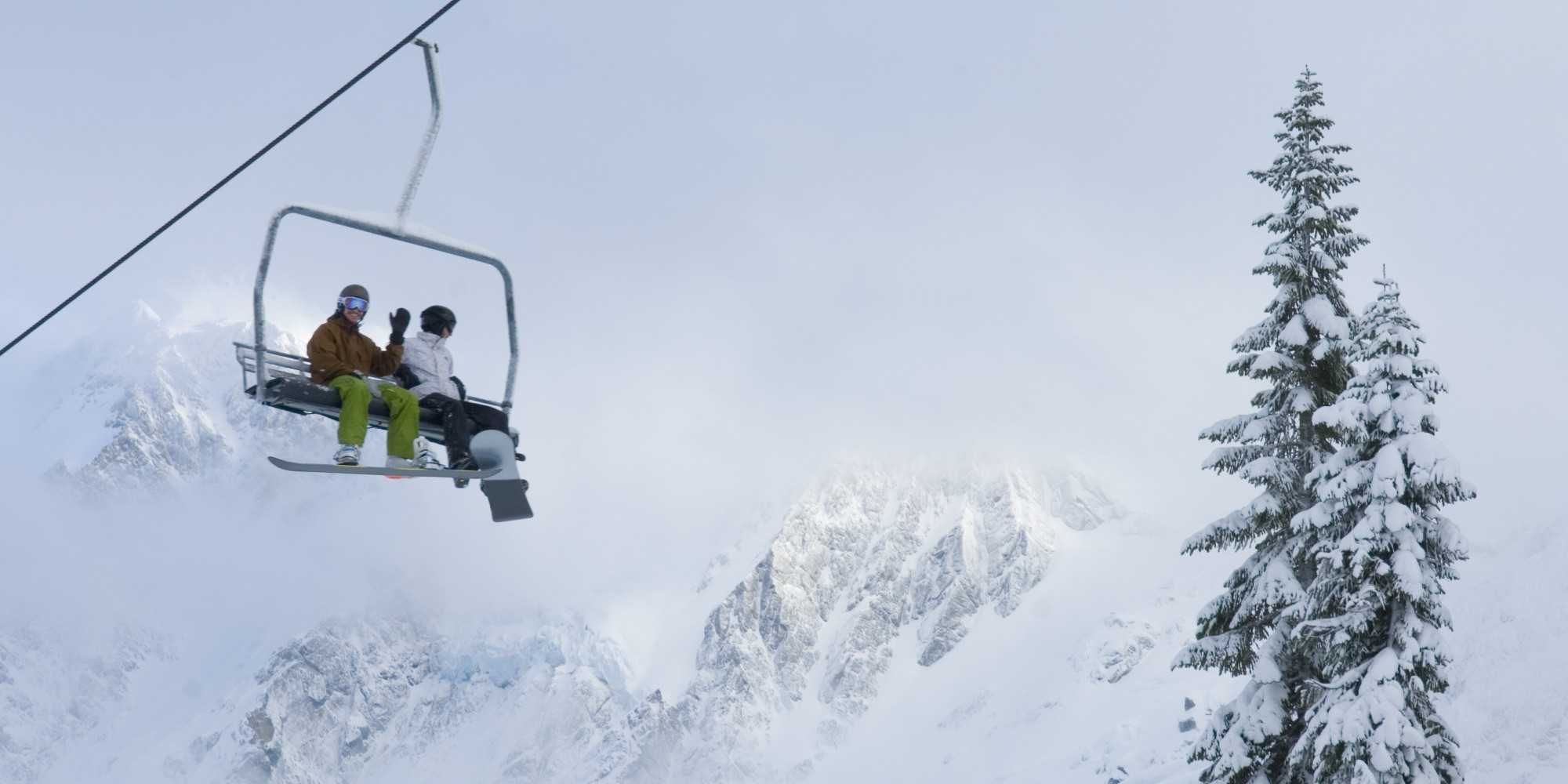 On ski lifts and the human condition the huffington post