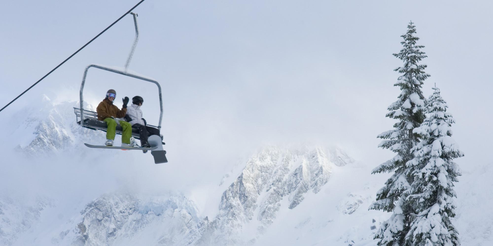 ski lift skiing snowboarding - photo #4