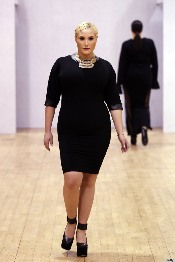 Hayley Hasselhoff Plus Size Doesn T Mean What People