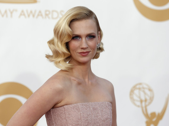 January Jones diffuse une photo d'elle enfant sur Instagram