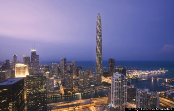 o SPIRE 570 This Is What Chicago Could Look Like In 2034