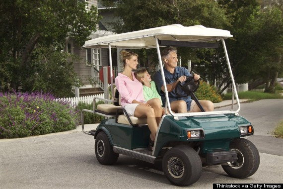 bald head island golf cart