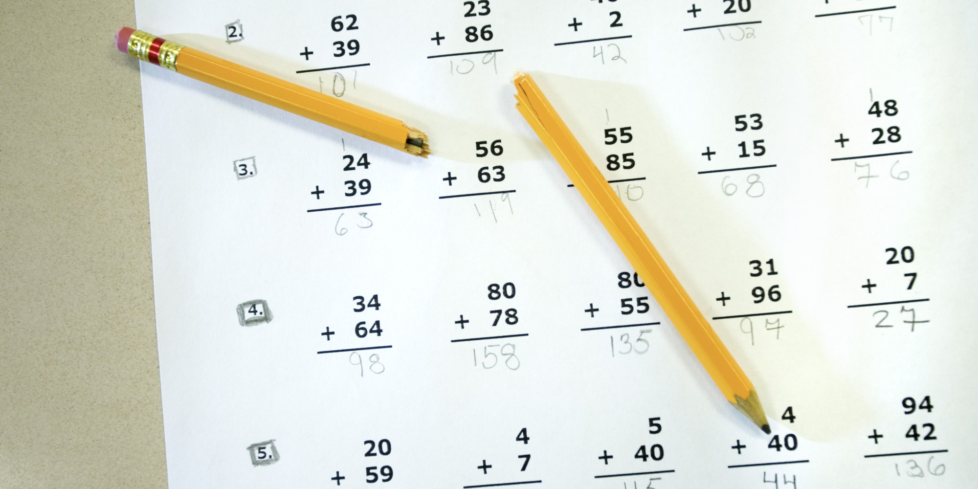 essays over standardized testing Annual number of test takers: over 170 million high  uniform set of essay tests based on the curricula of the  sat scores were standardized via test.