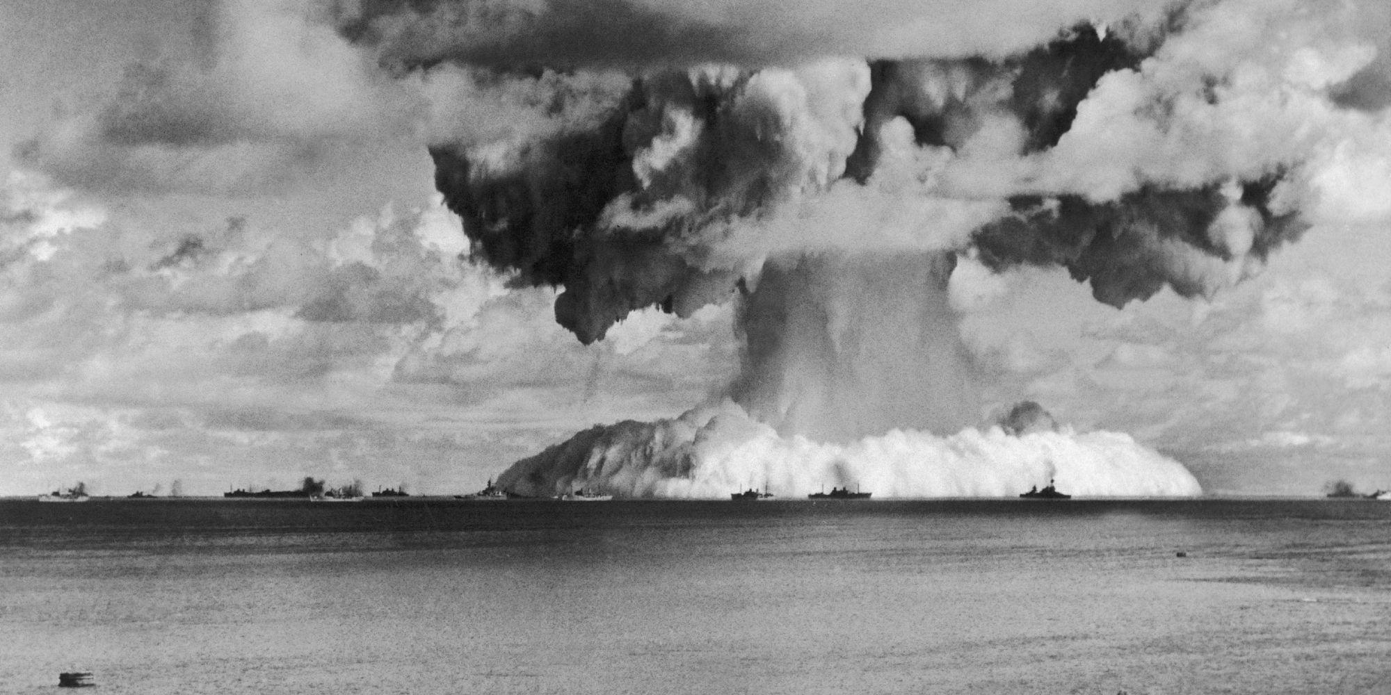 核の傷痕、戻れぬビキニ 水爆実験から60年 ビキニ環礁の水爆実験から60年 今も戻れない住民
