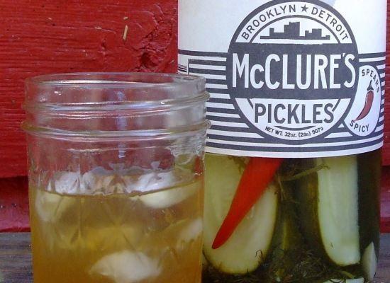 Pickle juice amateur from reddit