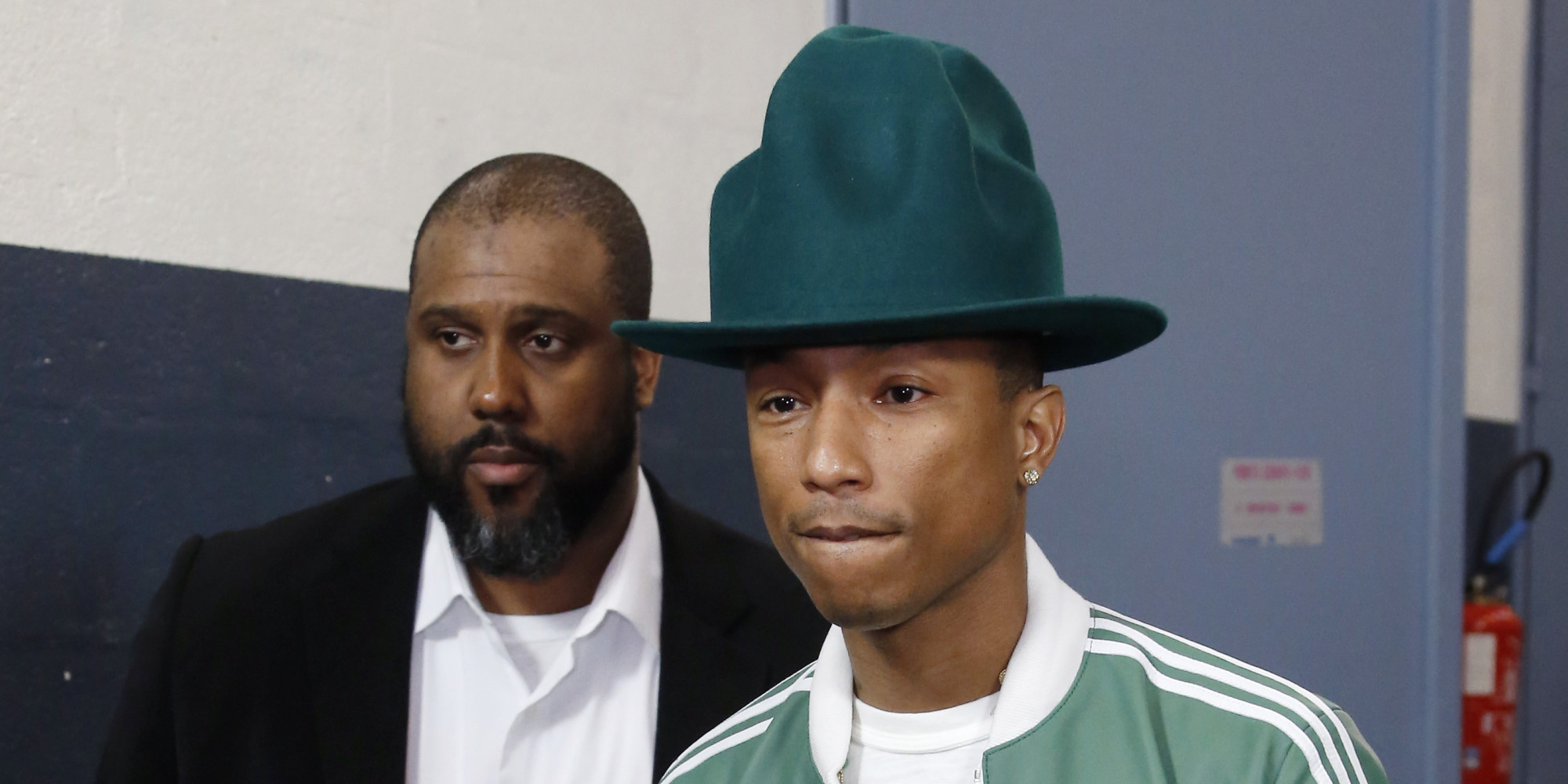 Pharrell Hat Designer Pharrell Williams' Grammys Hat