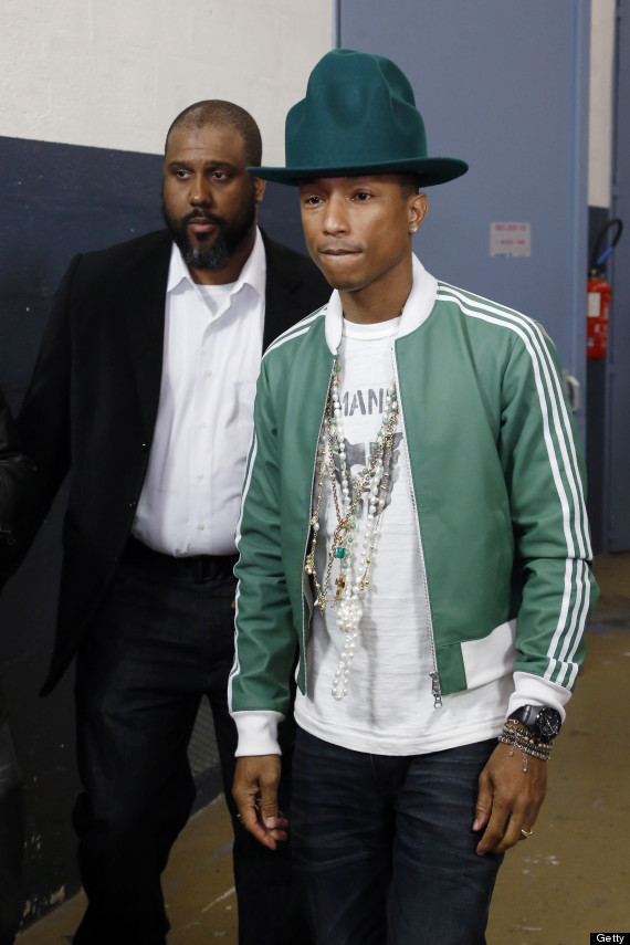 Pharrell Hat Designer Pharrell Williams Grammy Hat
