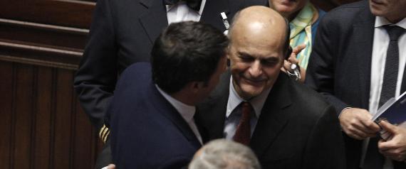 MATTEO RENZI PIER LUIGI BERSANI