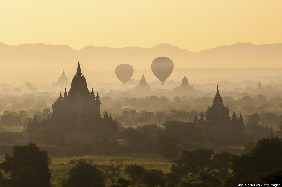 plain of temples bagan