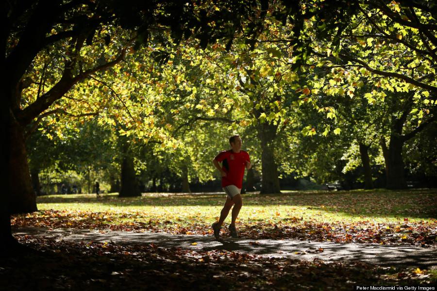 hyde park london running