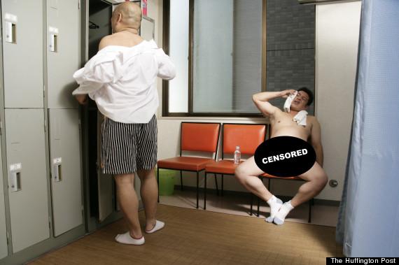 locker room nudity