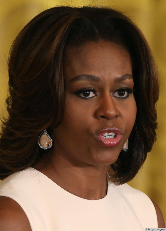 Michelle Obama Jumps Aboard The Boyish Brows Bandwagon