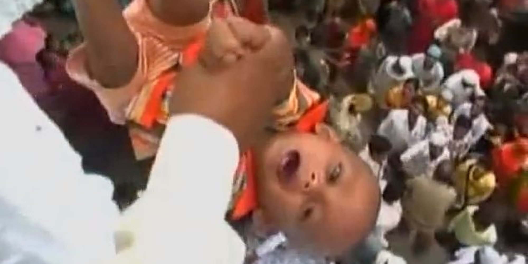 Brutal Rituals That Still Predominate The Society: baby tossing