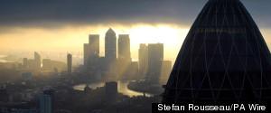 CANARY WHARF CITY OF LONDO