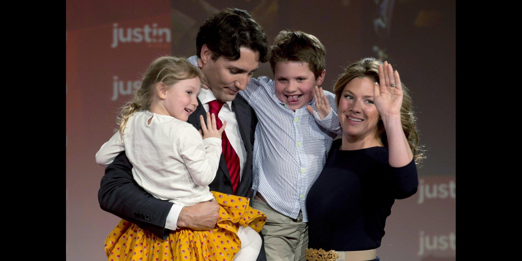 Justin Trudeau et Sophie Grégoire annoncent la naissance dHadrian, leur troisième enfant