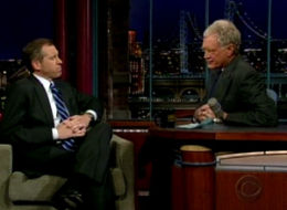 Brian Williams David Letterman