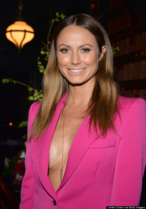 stacy keibler cleavage