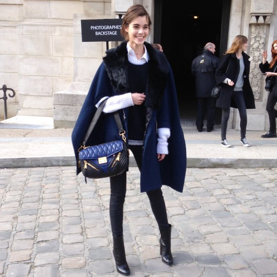 Paris Fashion Week Fall 2014 The Best Street Style From