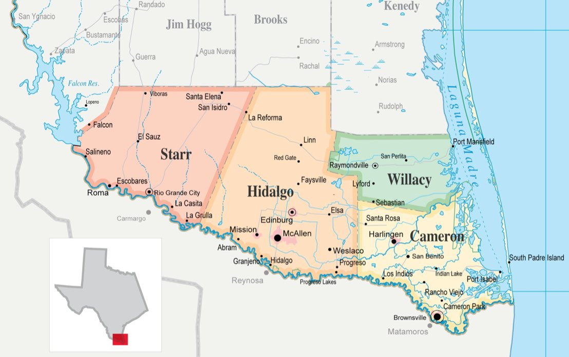 Texas Family Planning Cuts Are A Human Rights Disaster Report - Us map rio grande