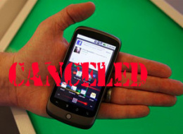Sprint Cancels Nexus One