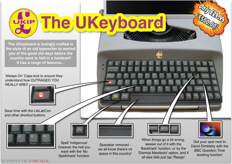 ukip keyboard