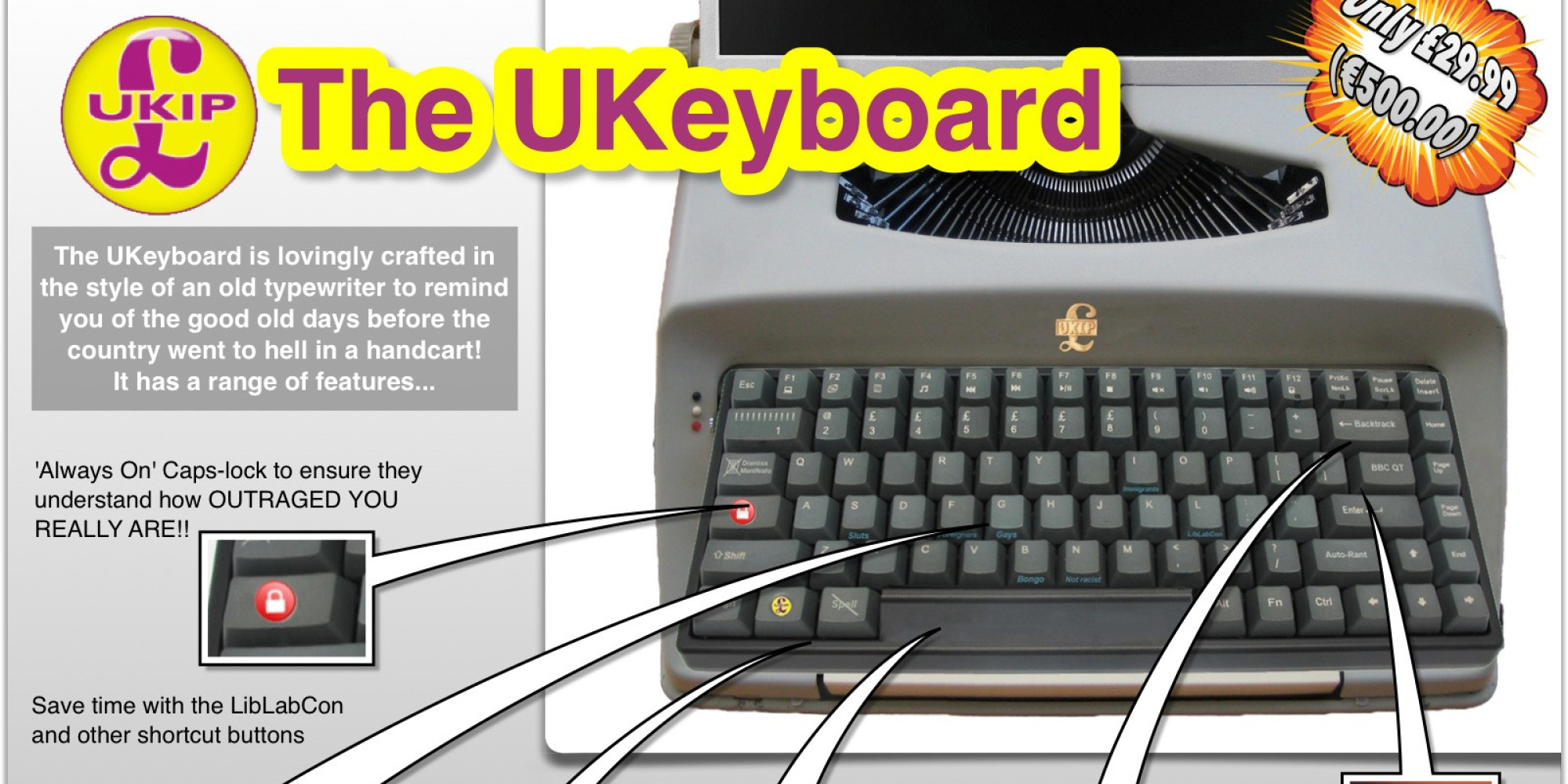 This Ukip Keyboard Will Satisfy All Your Right Wing