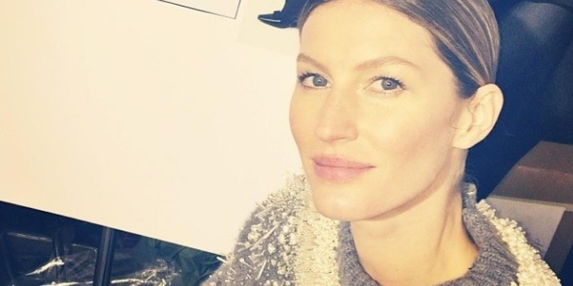 Gisele Bundchen Walks Balenciaga Show In Paris | HuffPost Gisele Bundchen Facebook