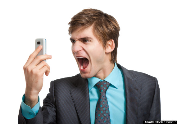 people on cell phones